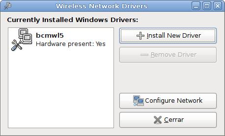 Wireless en Dell Inspiron 1501 (Broadcom 4301) con Ndiswrapper en Ubuntu Gutsy Gibbon (7.10)