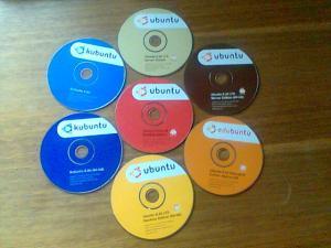 ¡Llegaron los CDs de Ubuntu!