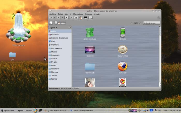 Mac4Lin en acción