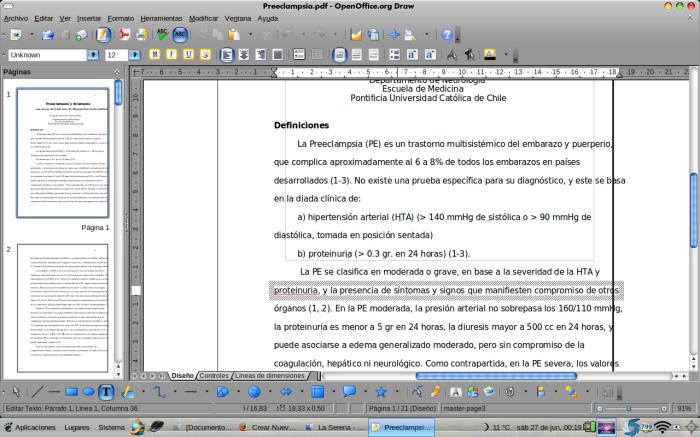editando textos pdf