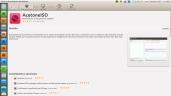 AcetoneISO desde el centro de software