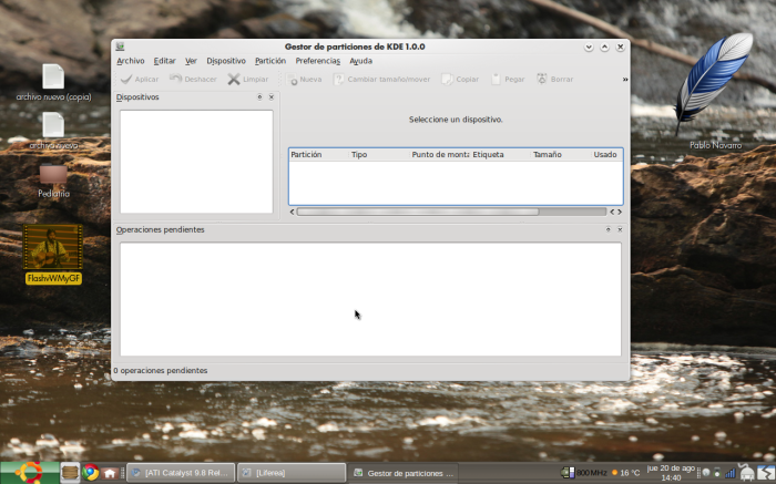 KDE PM 2