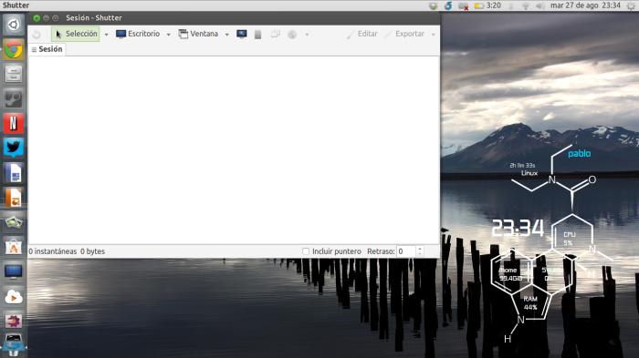 shutter en Ubuntu