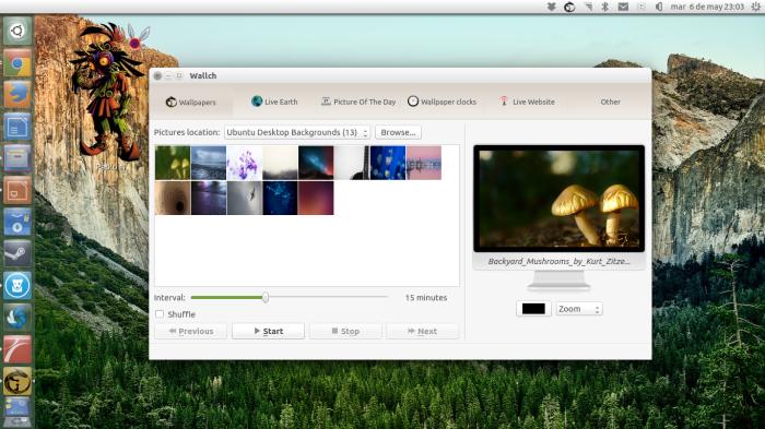 wallch en ubuntu