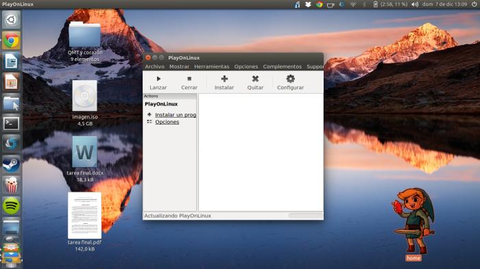 PlayonLinux en acción