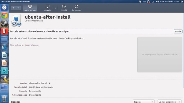 instalador after install