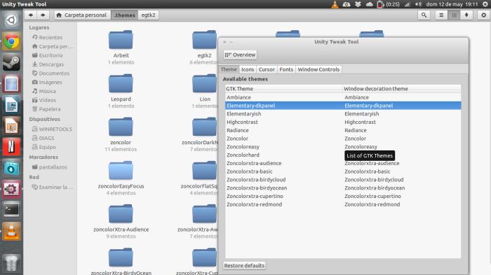 elementaryish en ubuntu