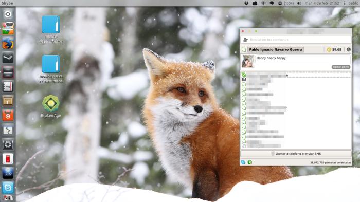 skype en ubuntu 13.10
