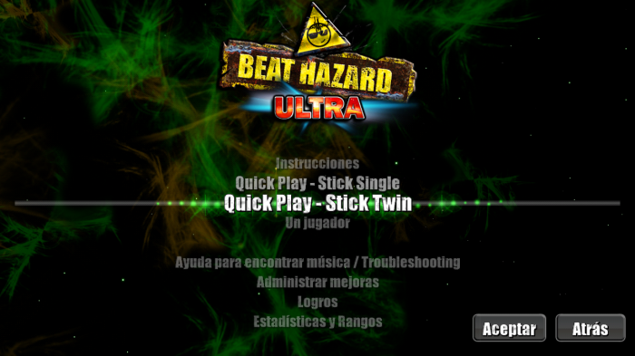 beat hazard ultra en acción