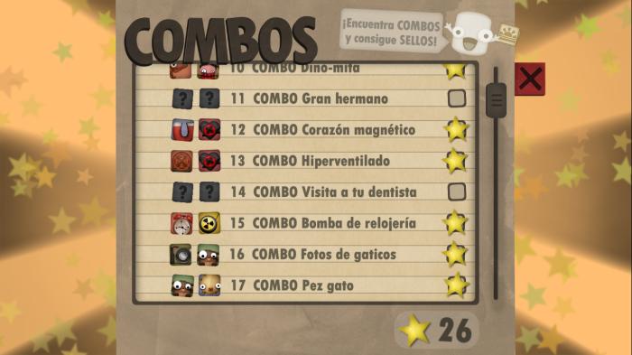 lista de combos