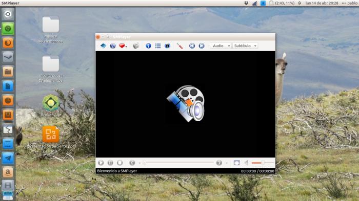 smplayer en ubuntu