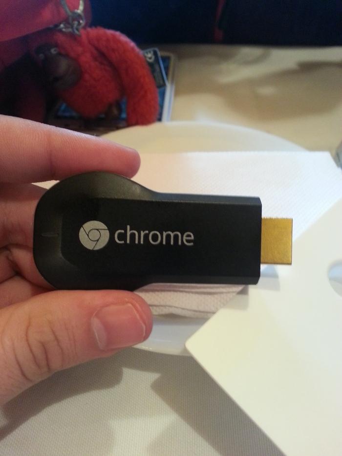 Chromecast funcionando