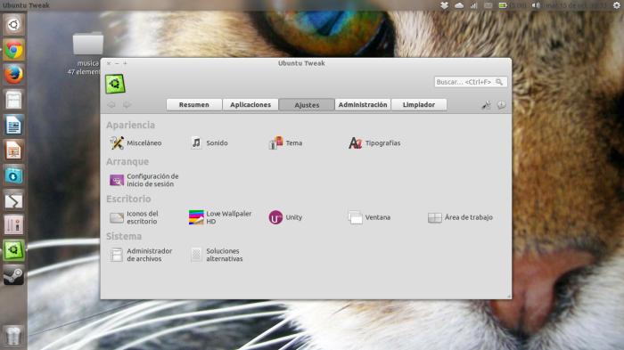 Ubuntu tweak en 13.10