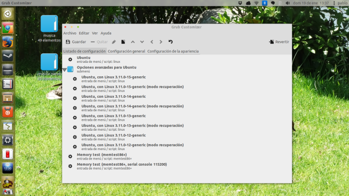 grub customizer en 13.10
