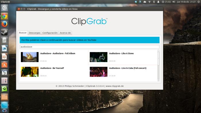 Clibgrab en ubuntu