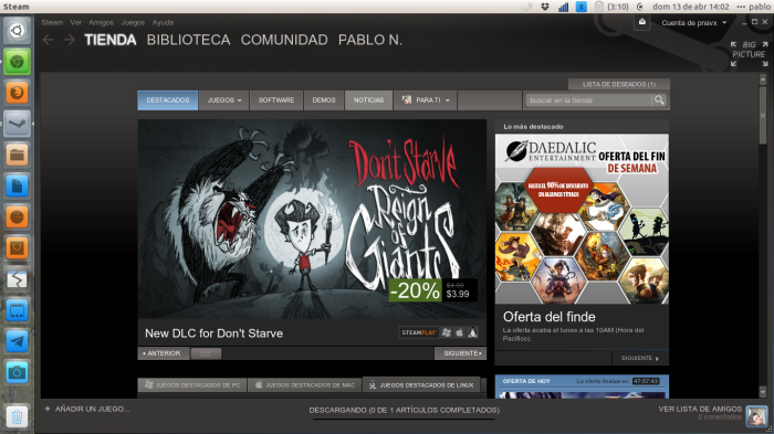 Steam en ubuntu
