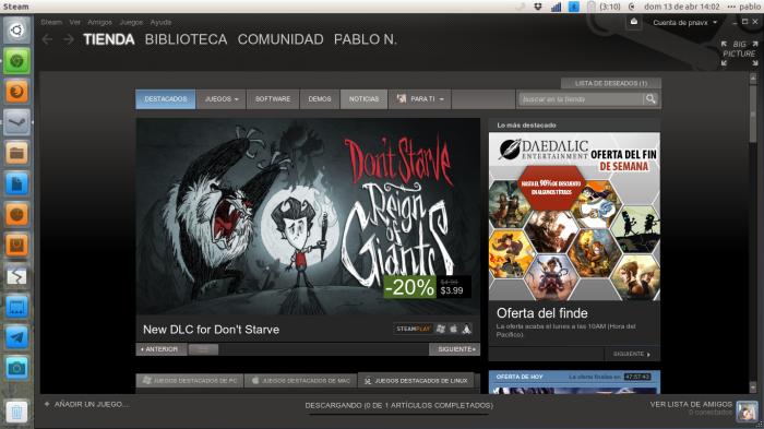 Steam en ubuntu