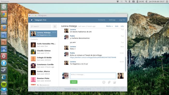 telegram como webapp