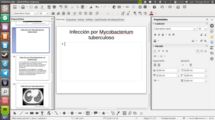 impress en libreoffice