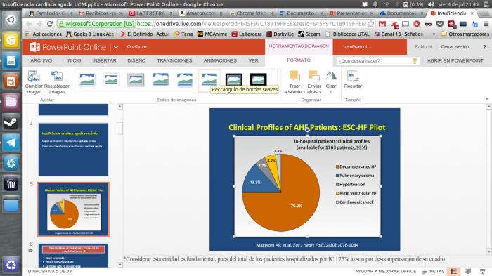 editando presentaciones en power point online