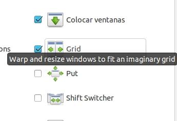 opcion de grid en compiz