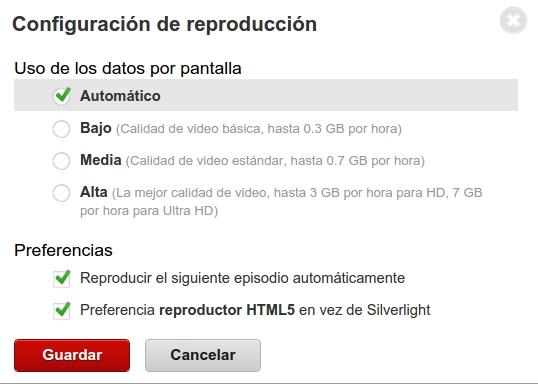 habilitando html5