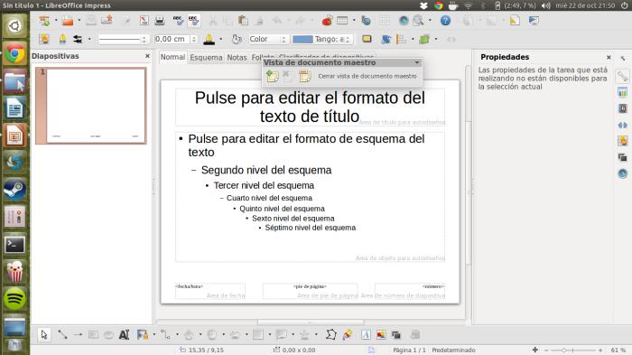 patrón de diapositivas