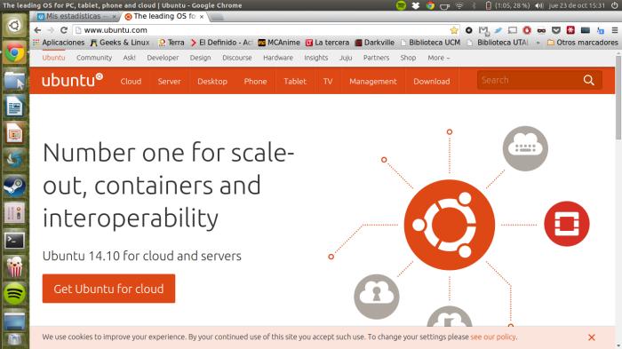 ubuntu en acción