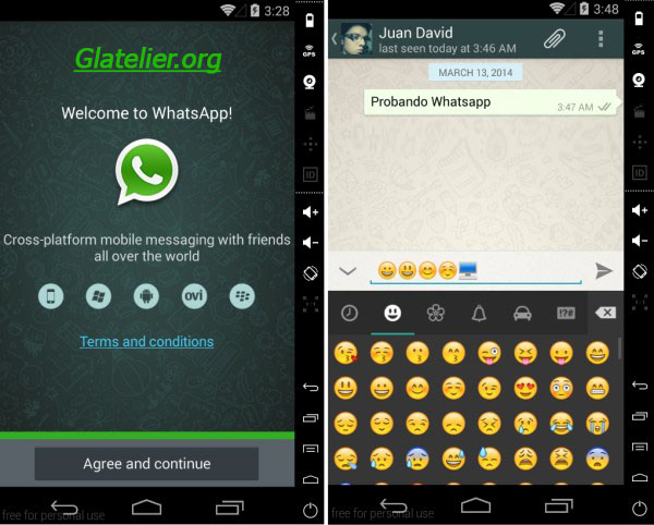 whatsapp-genymotion