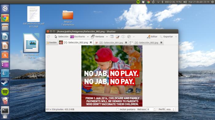 shotwell en ubuntu
