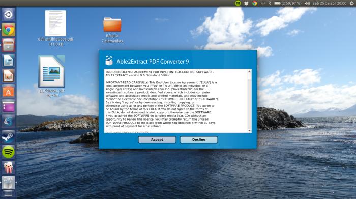 Noticia - Able2extract: convierte, edita y crea archivos PDF